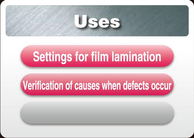 Fujifilm Prescale Lamination Paper Film Surface
