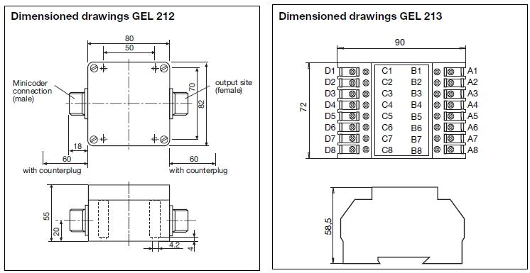 Interpolation Electronics Gel 212 213 Lenord Bauer Rail Speed